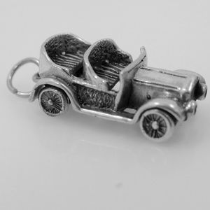 Jewelry - Solid Sterling Model A Convertible Car Charm